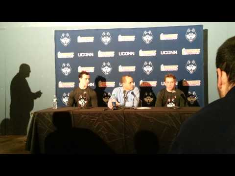 UConn Men's Hockey Post Game vs #11 Vermont