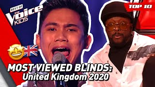 Download TOP 10 | MOST VIEWED Blind Auditions of 2020: UK 🇬🇧 | The Voice Kids