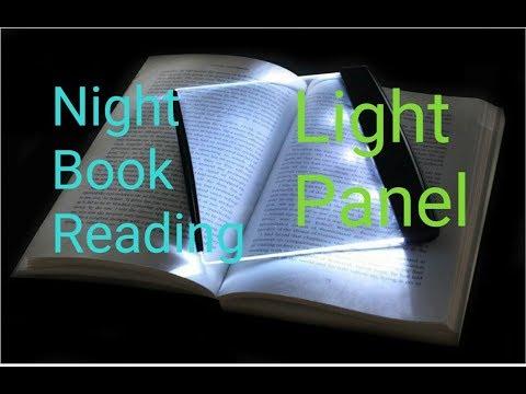 How to make Night Book Reading Light Panel. |Creative Electronics|