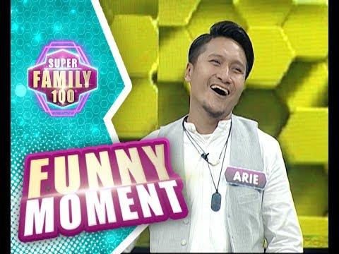 Arie Untung salah masuk restoran, mau keluar lagi tapi tengsin! - Super Family 100