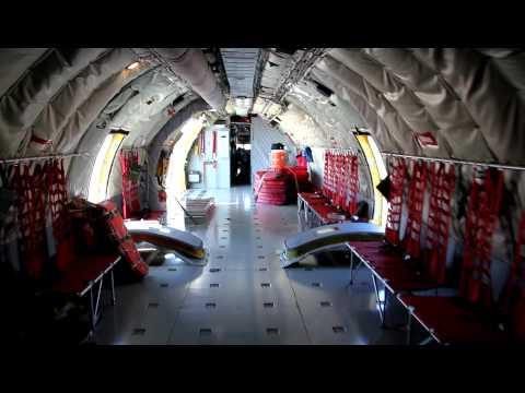 Tour of the KC-135R Stratotanker.