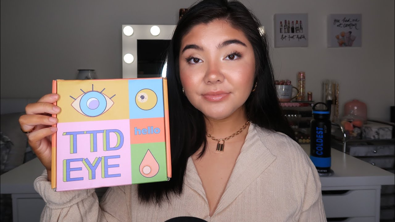 ASMR  Trying On TTDEYE Colored Contacts  |  New Himalaya series
