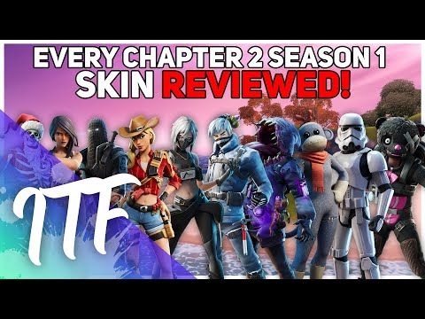 Every Chapter 2 Season 1 Fortnite Skin REVIEWED! (Fortnite Battle Royale)