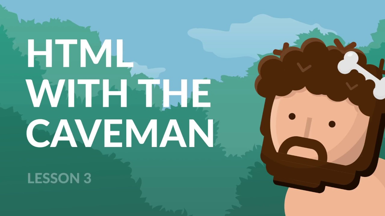 3  3  Html Coding For Kids And Caveman