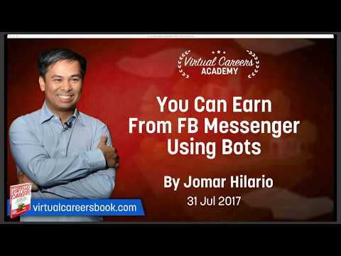 You Can Earn From Facebook Messenger Using Bots | Virtual Careers Academy