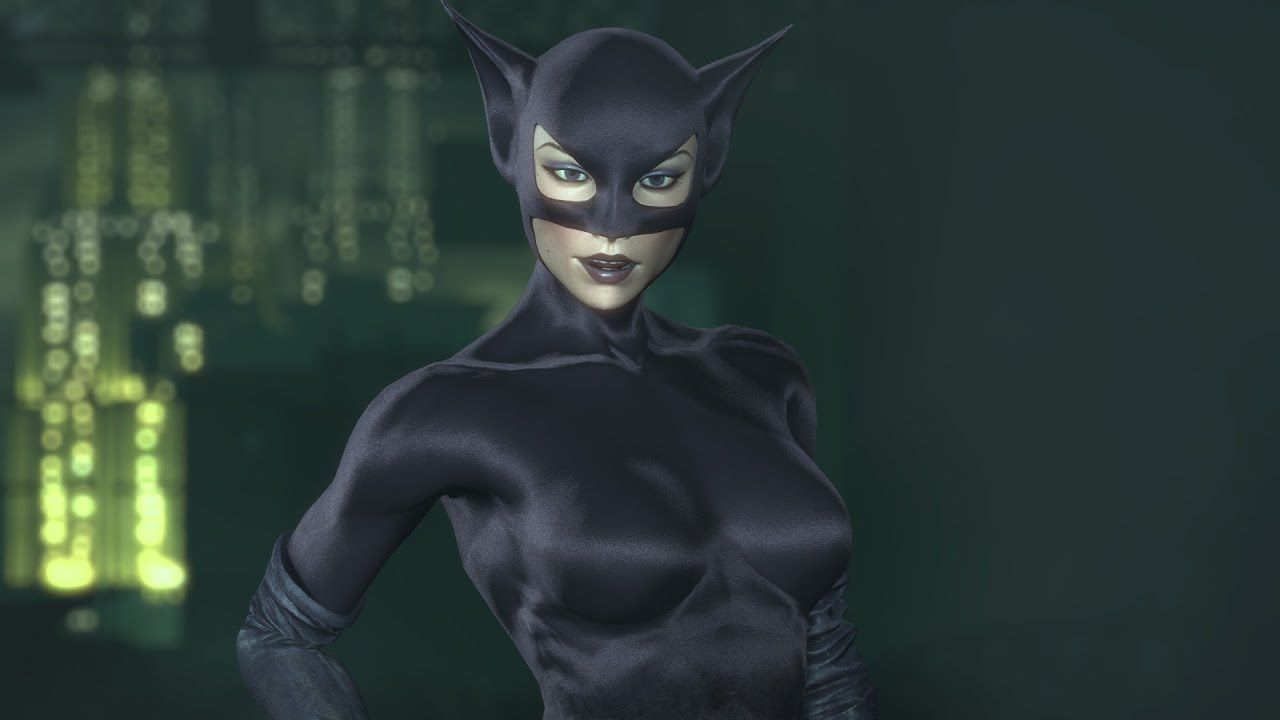 SKIN; Batman; Arkham City; Catwoman; Year One & SKIN; Batman; Arkham City; Catwoman; Year One - YouTube