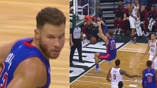 Blake Griffin BULLIES Entire Cavaliers and Shows He's Ready To Make A Comeback! Pistons vs Cavaliers