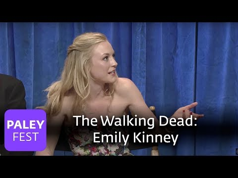 The Walking Dead  How Emily Kinney Deals With Character Deaths