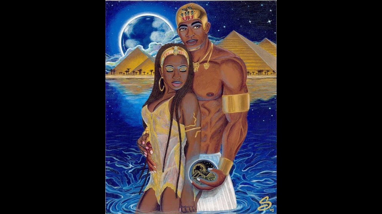 Black King And Queen Love