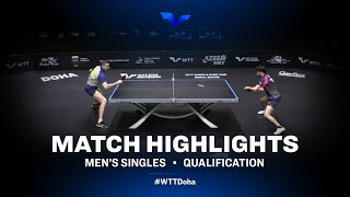 Kirill Skachkov vs Brian Afanador | WTT Star Contender Doha 2021 | MS | QUAL Highlights