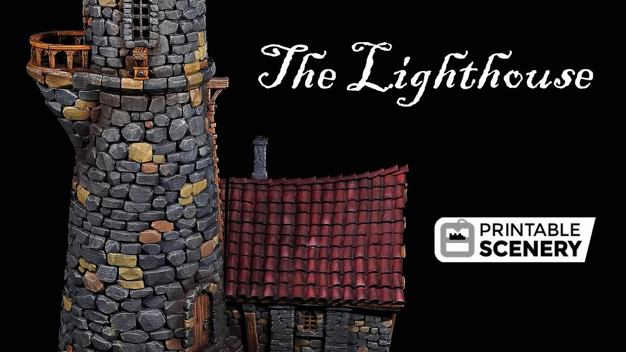 The Lost Islands - 3D printable Terrain for RPG and Wargames