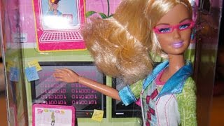 Computer Engineer Barbie Needs A Man's Help To Restart Her Computer(