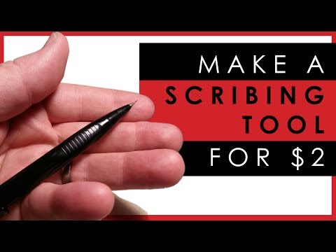 How to make your own panel line scriber tool for $2