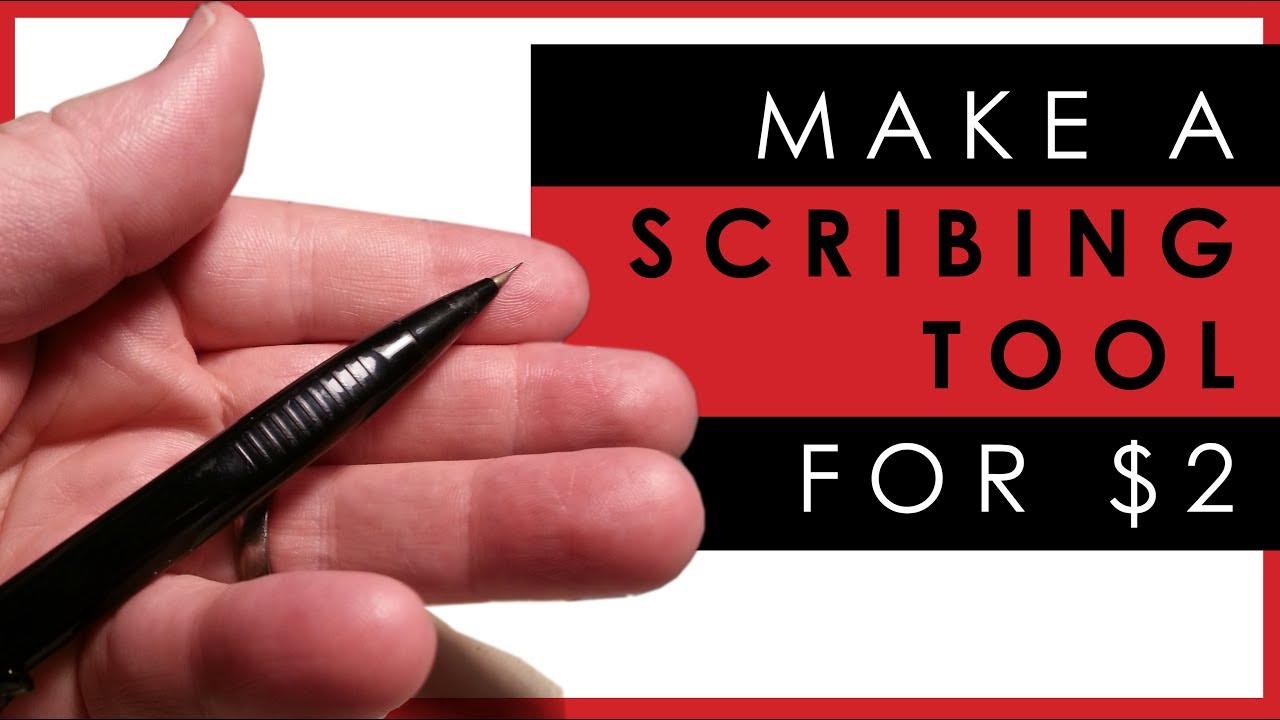 TuToy Scriber Craft Tool Scrib Line Pen Model Tools Para Plane Gundam