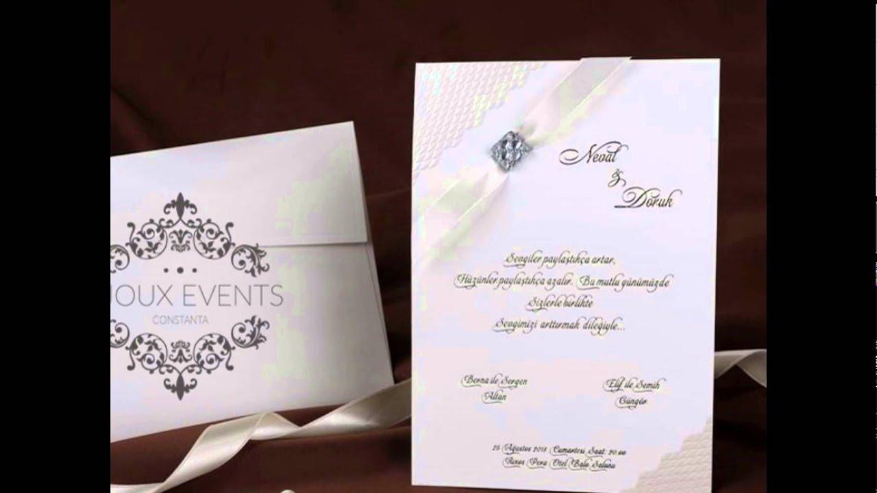 Invitatii Nunta Personalizate Simple Si Elegante Sau Invitatii
