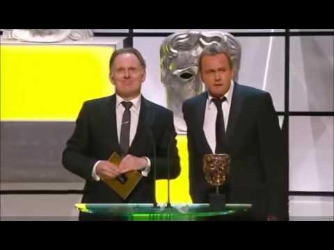 Philip Glenister and Robert Glenister at the BAFTA Awards 2012
