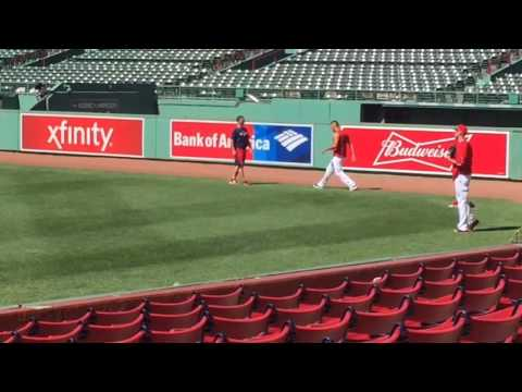 Boston Red Sox starter Eduardo Rodriguez works out at Fenway Park on Tuesday, June 20.