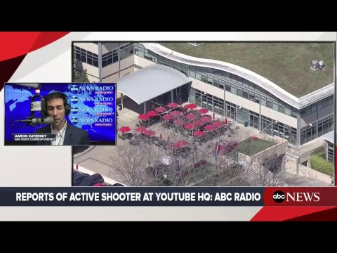 Reports of active shooter at YouTube HQ in San Bruno Califor