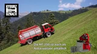 Traktionswinde Kyburz Maschinenbau AG DP KF 250 Seilwinde