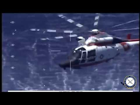 U.S. Coast Guard Rescues Navy Pilot Following Crash Off Key West