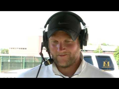 Jeremy Groves Post Game Interview Arkansas State @ Murray State Soccer 2016
