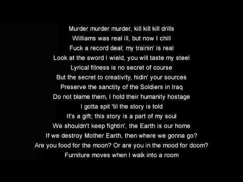 Canibus - Poet Laureate Infinity V004 (w/ lyrics)