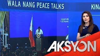 No more peace talks