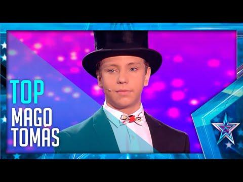 Download Los ESPECTACULARES TRUCOS del pequeño Mago TOMÁS | Got Talent España