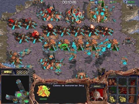 Starcraft Team Game 1:7 CPU (Zerg)