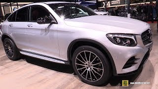 2018 Mercedes GLC250d 4Matic Coupe - Exterior and Interior Walkaround - 2018 Geneva Motor Show
