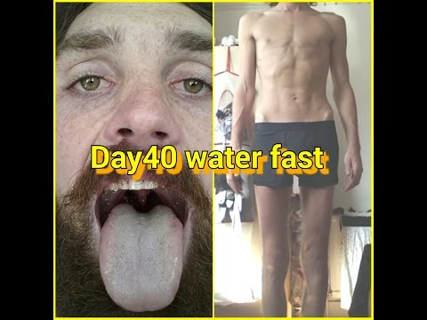 40 day Water fast, spiritual and physical regeneration Day 40