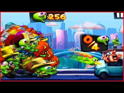 250 ЗОМБИ ЦУНАМИ ВЗЛОМ. игра как Растение против зомби.Hack Zombie Tsunami Start With 250 Zombies