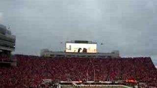 Husker Power - Tunnel Walk 2006