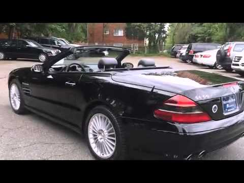 2003 mercedes benz sl class sl55 amg convertible youtube for Mercedes benz arlington service center