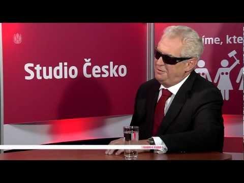 Studio Česko (21) - Miloš Zeman