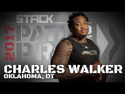 2017 Path to the Pros: Charles Walker, Oklahoma DT