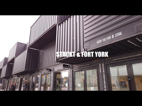 TORONTO | Fort York & New Stackt shipping container market | Vlog 5