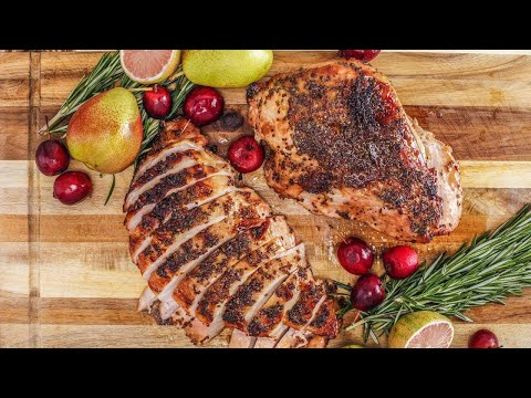 How To Make Maple-Rosemary Turkey Breasts By Rachael
