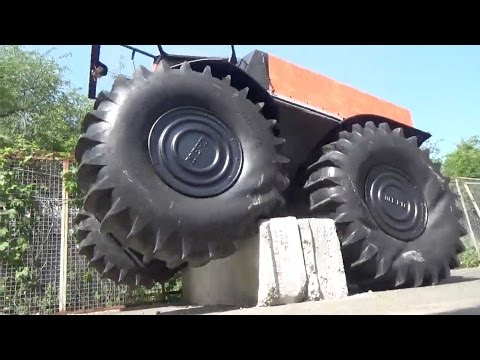 Russian SHERP ATV is an impressive off-road vehicle