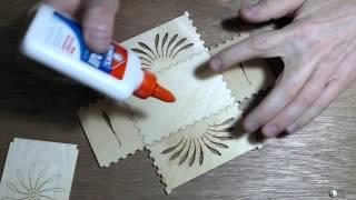 Lasercut Box: Glue-up