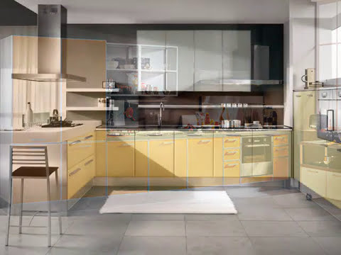 Tutti i colori di ArredissimA: le cucine - YouTube