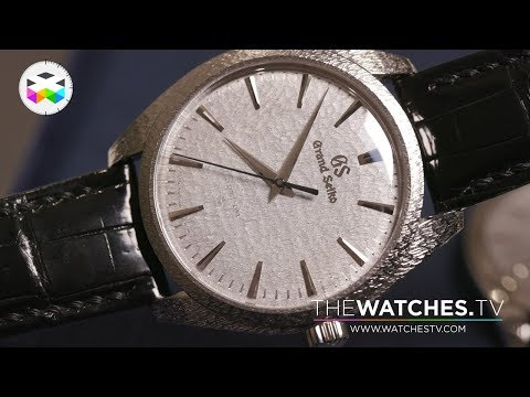 Grand Seiko & Seiko New Watches At Baselworld 2019