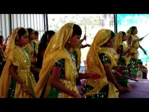 Group dance for flute music