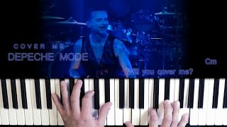 Depeche Mode Cover Me Easy Piano Cover