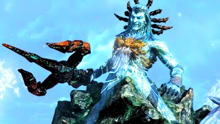 God of War 3 Remastered Poseidon Boss Fight HD 60FPS 1080p
