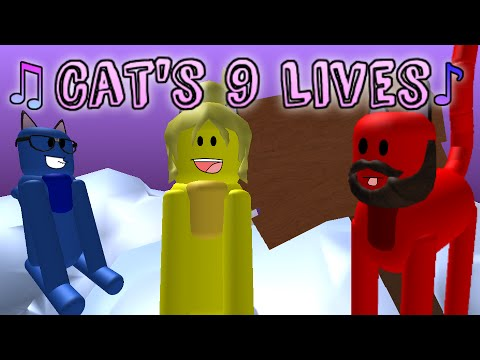 Cat's 9 Lives Song - Roblox Music Video