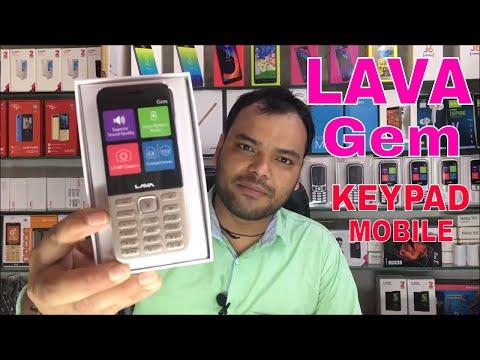 Lava Gem Keypad Mobile Unboxing