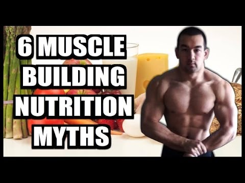 6 Bodybuilding Nutrition Myths Debunked!
