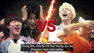 SF9 - Cleopatra Game (High Note Battle)