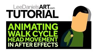 Tutorial | After Effects | Animate Walk Cycle Head Move
